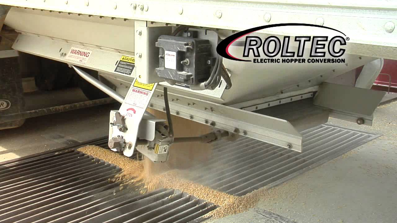 Roltec 174 Electric Tarp And Hopper Conversion Youtube