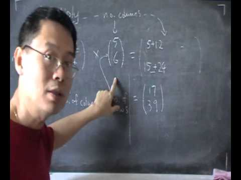 O Level Math / High School- Matrix