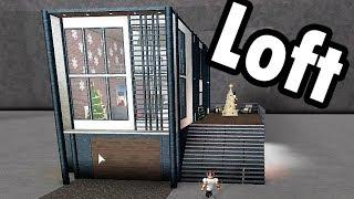 Industrial Loft! | Roblox - BloxBurg (83k)