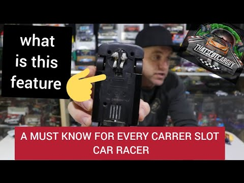 A CARRERA SLOT CAR FUNCTION YOU REALLY NEED TO KNOW