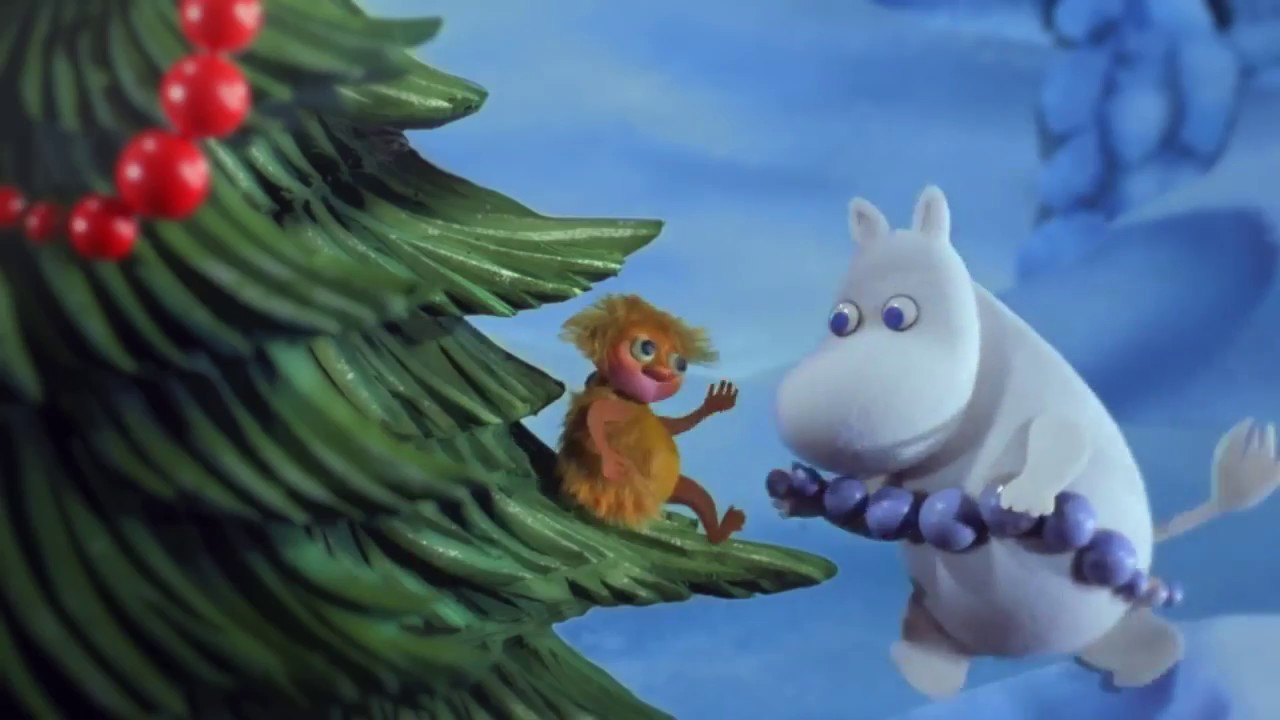 Moomins and the Winter Wonderland. English teaser - YouTube