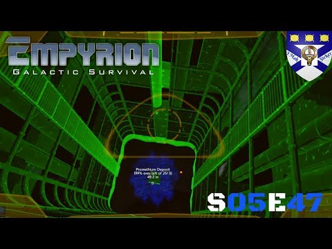 """Empyrion Galactic Survival (S05) -Ep 47 """"Juno Facility Build Stage 4"""" -Multiplayer """"Let's Play"""""""