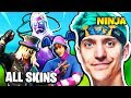 NINJA EXPLAINS WHY HE BUYS ALL SKINS | Fortnite Daily Funny Moments Ep.192