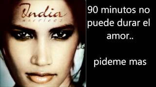 India Martinez - 90 Minutos Letra Lyrics