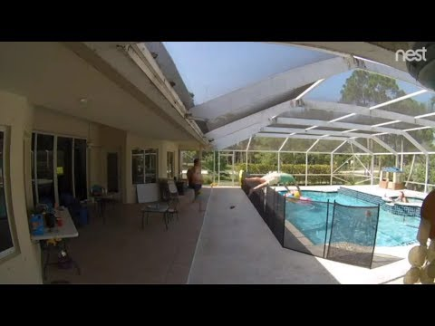 Manny's - Awesome Video Shows Dad Jump Over Pool Fence To Save Toddler