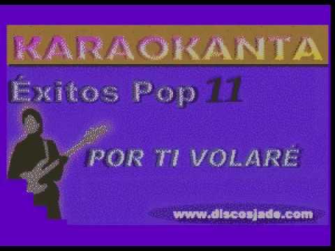 Karaokanta - Andrea Bocelli - Por ti volaré