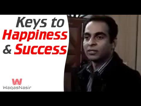 Keys to Success and Happiness | Qasim Ali Shah | Urdu/Hindi | WaqasNasir