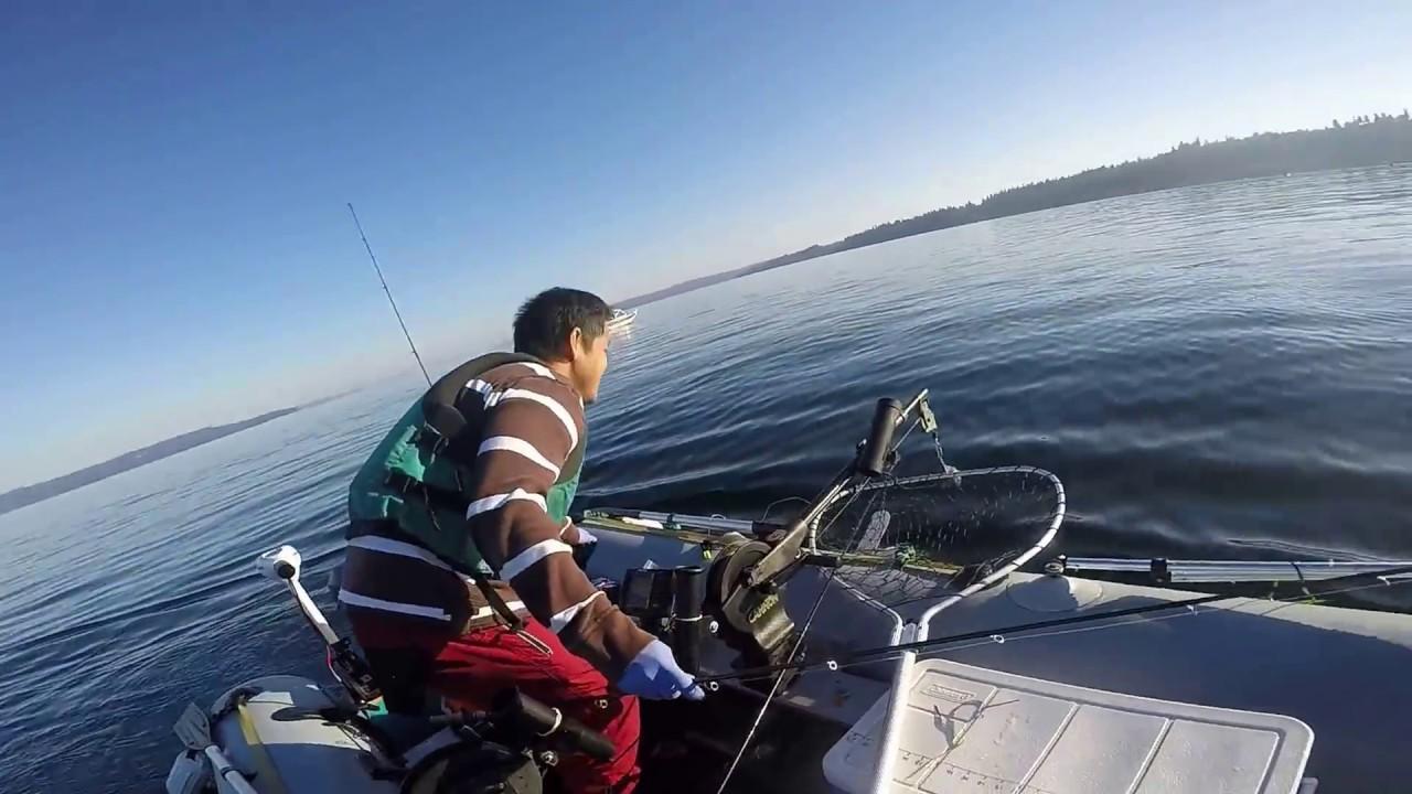 Puget sound pink salmon fishing aug 2015 youtube for Salmon fishing puget sound