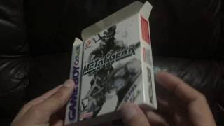 Unboxing: Metal Gear Solid do GBC da Gradiente (1080p)