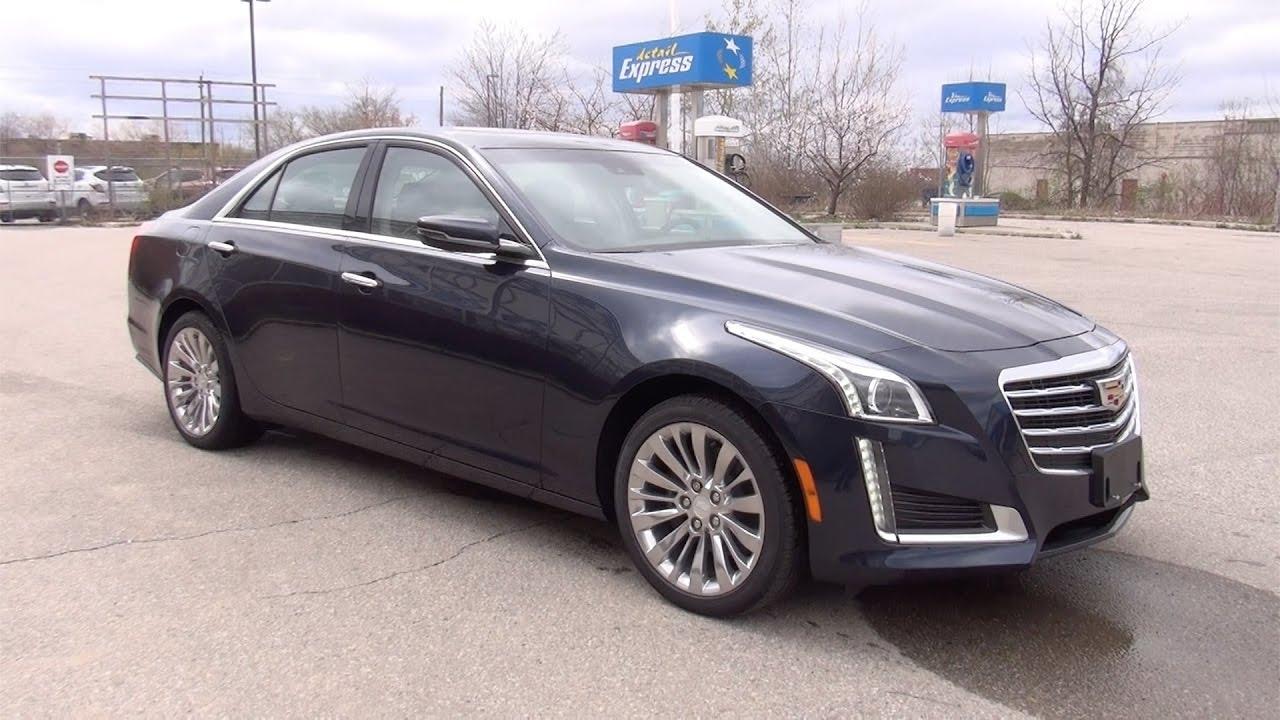 2017 Cadillac Cts 3 6 L Premium Luxury >> 2017 Cadillac Cts Sedan 3 6l V6 Awd Luxury Bennett Gm New Car