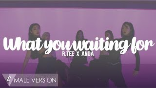 MALE VERSION | R.Tee x Anda - What you waiting for