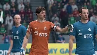 «Локомотив» Москва. — «Динамо» Москва. прогноз, симуляция матча, FIFA 18.