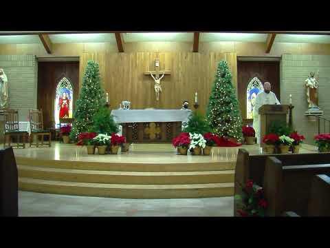 Sacred Heart Catholic Church Morrilton, Arkansas - Mass of the Holy Family