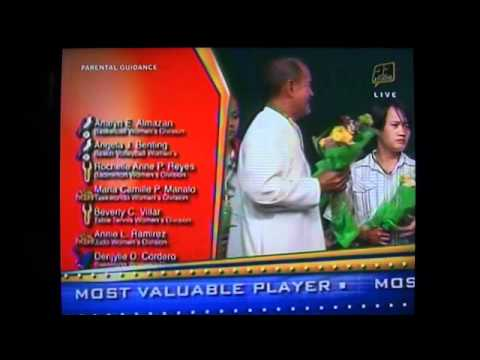 UAAP 73 Most Valuable Player - Women - March 12, 2...