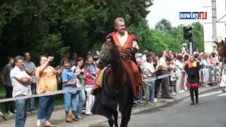Daniel Olbrychski - Przejazd na koniu przez Racibórz