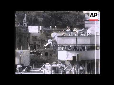 HMS Royal Oak Shelled.