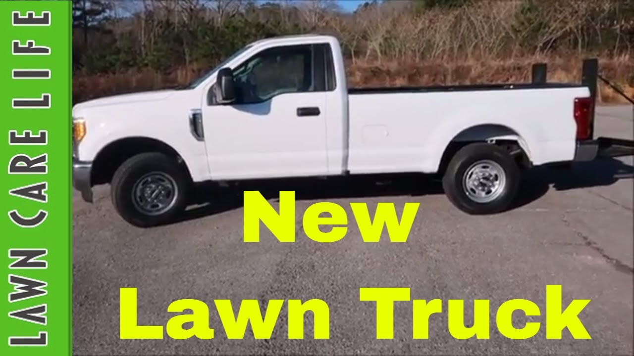 New lawn care truck purchase ford f250