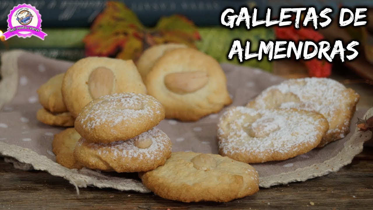 Almond Cookies 4 Ingredients Nati Homemade Recipes