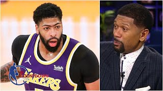 The Lakers won't win the West without a healthy Anthony Davis - Jalen Rose | NBA Countdown