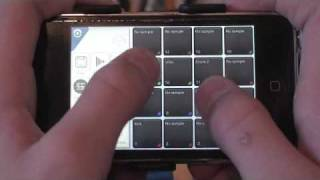 lil wayne a millie instrumental played on an ipod touch
