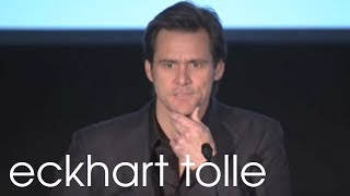 "Jim Carrey on ""Awakening"" – Eckhart Tolle TV"