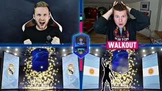 MEGA PACK&PLAY KART CHAMPIONS LEAGUE! VS KOZA FIFA 19