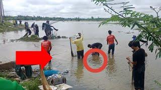 #หว่านแหตรงสะพานน้ำไหล ได้ปลาเป็นหาบ
