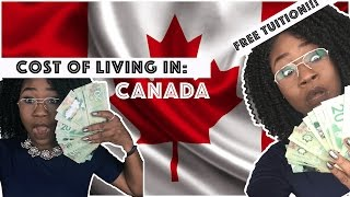 HOW TO GET FREE TUITION!!!💵💰+ COST OF LIVING IN CANADA🇨🇦 (PART 3 OF 3) thumbnail
