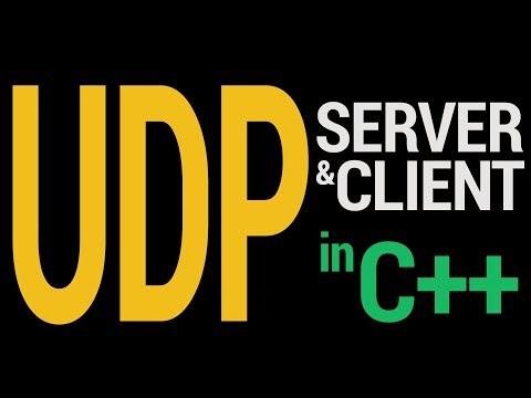 Starter UDP Server And Client in C++