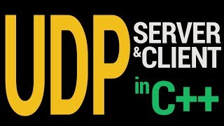 Starter UDP Server And Client in C++