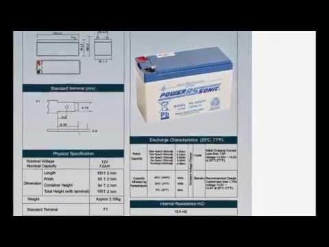 accu 12v 7ah power sonic 12 volt 7 ampere e 18 aaa kwaliteit met webshop keurmerk