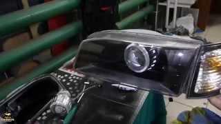 Тюнинг оптики Toyota Carib(, 2014-05-20T17:45:27.000Z)