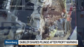 Daimler Profit Warning Pushes Stock to Five-Year Low