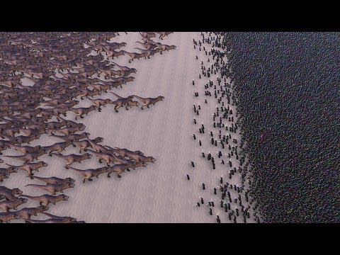 Cort Webber - Who would win in a fight: 3,000 T-Rexes vs 20,000 Jedi Knights?