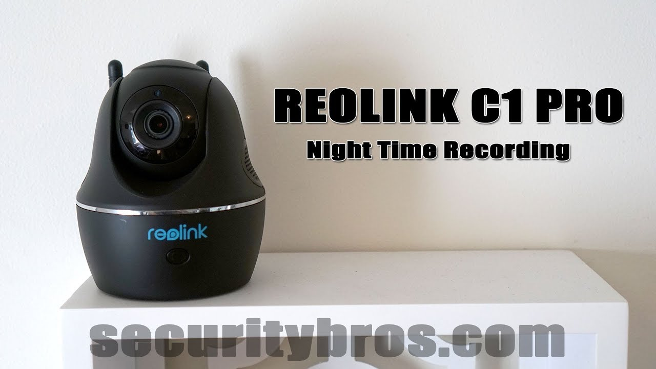 Reolink C1 Pro 4MP Wireless IP Camera Review | SecurityBros