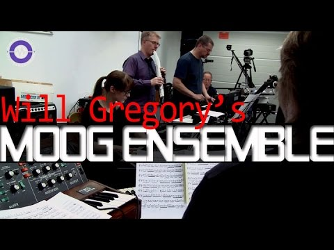 Goldfrapp's Will Gregory  and his Moog Ensemble