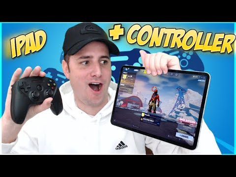 Fornite Mobile - PLAYING MOBILE WITH A CONTROLLER
