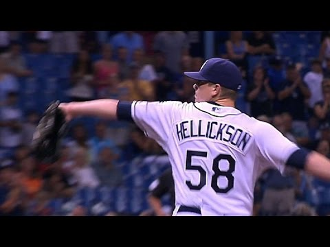 BAL@TB: Hellickson hurls his first career shutout