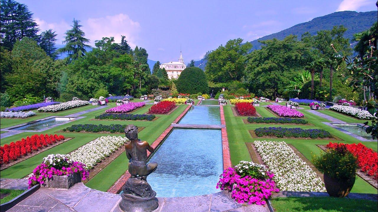Villa taranto in verbania pallanza am lago maggiore slideshow youtube - Immagini di giardini fioriti ...