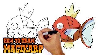How to Draw Magikarp | Pokemon