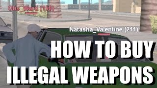 How to get weapons ILLEGALLY (LSRP)