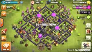 (Clash of Clans) Farm de elixir negro cv8 e cv9Top