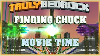 Truly Bedrock S1 EP21 Finding Chuck... Movie Time xD [ Minecraft, MCPE, Bedrock Edition ]