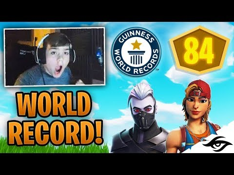 Mongraal | NEW FORTNITE WORLD RECORD! (84 Points Squad Pop-Up Cup)