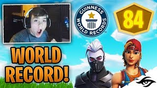 Mongraal NEW FORTNITE WORLD RECORD! (84 Points Squad Pop-Up Cup)