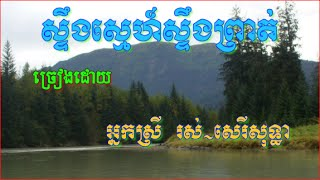 Ros Sereysothea | Steung Sne Steung Preat | The Best Khmer Old Songs Mp3