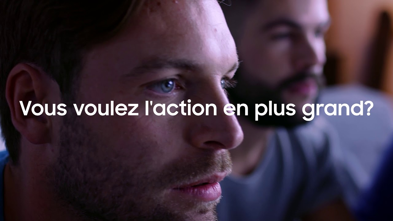 Samsung TV : vivez l'action autrement