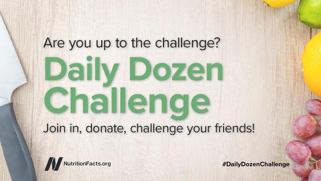Daily Dozen Challenge