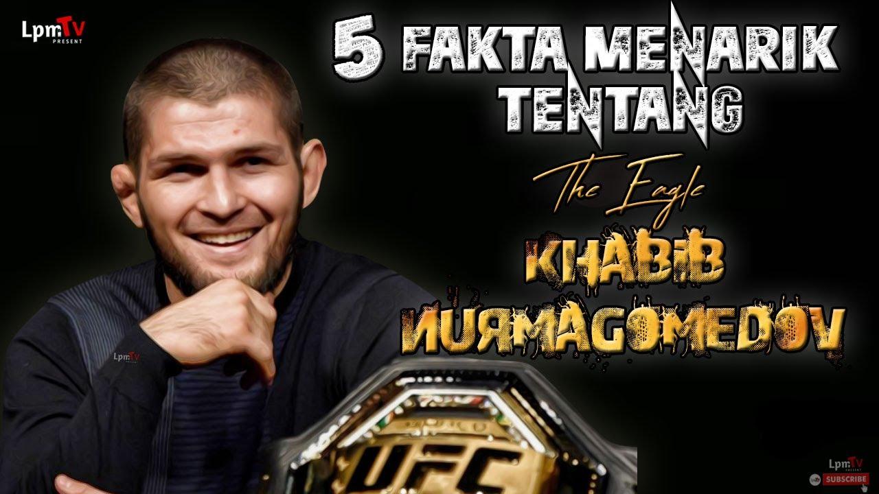 Petarung Muslim Yang Tak Terkalahkan !! 5 FAKTA MENARIK TENTANG KHABIB THE EAGLE NURMAGOMEDOV