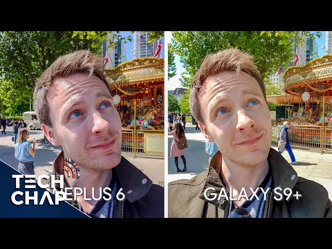 OnePlus 6 vs Galaxy S9+ Camera Comparison! | The Tech Chap
